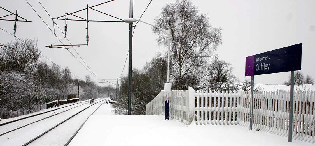 Cuffley Railway Station