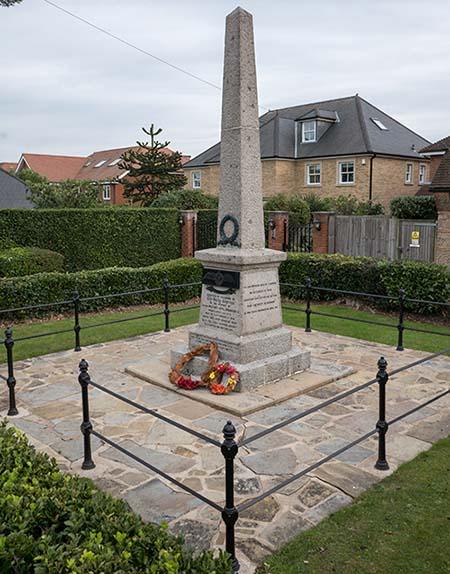 Memorial to Capt Leefe Robinson VC