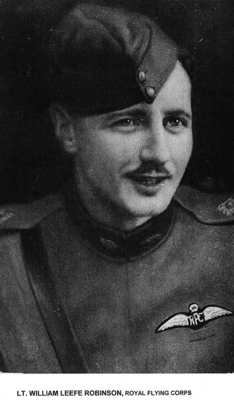 Lt William Leefe Robinson VC