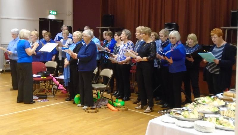 The Cuffley Singing For Fun Group