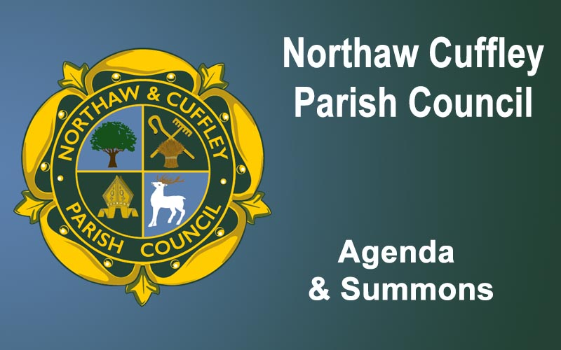 22-11-18 Meeting Summons and Agenda Parish Council Meeting