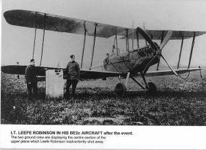 BE2c aircraft with WLR-web3